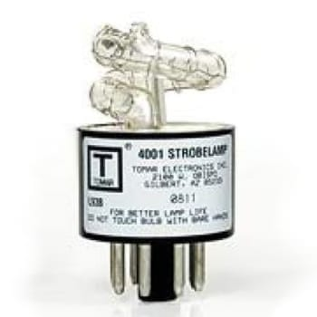Tube for 800 Series, 4001 Xenon Strobe Tube for 800 Series Strobes, TOMAR Electronics Inc.
