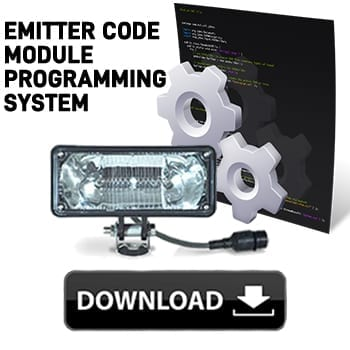 , Emitter Code Module Programming System – (CD/USB), TOMAR Electronics Inc.